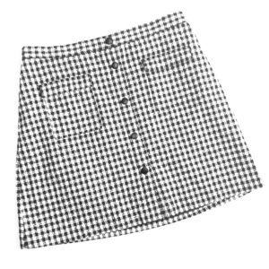 H&M gingham Plaid Skirt